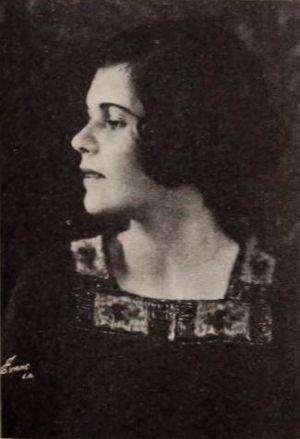 Betty Bouton - From a 1920 magazine