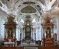 Beuron Abteikirche Hochaltar und Seitenaltäre.jpg