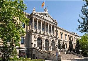 Biblioteca Nacional de España - Image: Biblioteca Nacional de España (Madrid) 09