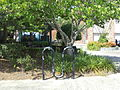 Bicycle Rack, Mack's Park, Valdosta.JPG