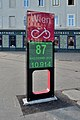 Bicycle traffic counting application, Praterstern.jpg