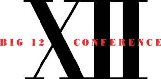 Big 12 Conference - Original Big 12 Conference logo from 1996 to 2004