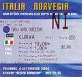 Biglietto Italia-Norvegia - Stadio Renzo Barbera - 27 agosto 2004.jpg