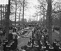 Bijzetting op Grebbeberg van 20 gesneuvelde militairen in Frankrijk, eresalvo, Bestanddeelnr 903-8449.jpg