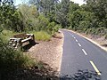 Bike trail and park bench near Russi and Blue Ravine roads - panoramio.jpg