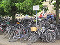 Bikes outside Cambridge railway station, England - IMG 0607.JPG