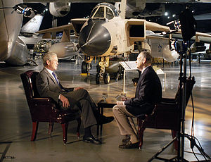 The O'Reilly Factor - Bill O'Reilly interviews former President George W. Bush for The O'Reilly Factor at the Air Force Museum, November 11, 2010