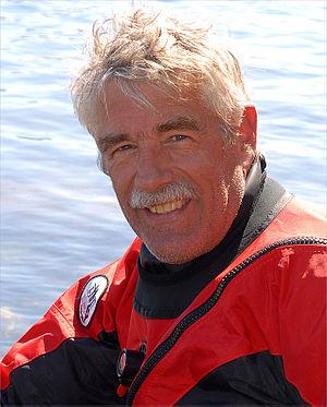 William W. Fitzhugh - Fitzhugh in 2009 after a dive in Quebec
