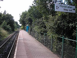 Rail transport in Cardiff - Image: Birchgrove Railway Station