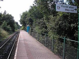 Rail transport in Cardiff - Image: Birchgrove Railway Station