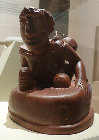 Mississippian stone statuary - Birger figurine