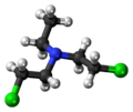 Bis(2-chloroethyl)ethylamine 3D ball.png