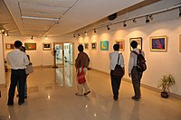 Exhibition in Academy of Fine Arts in July 2010