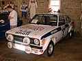 Björn Waldegård's British Airways sponsored Ford Escort RS1800, winner of the 1977 Lombard RAC Rally pictured at M-Sport in 2007 2013-12-07 09-03.jpg