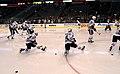 Blackhawks pregame skate (5442383808).jpg
