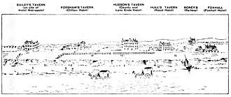 Blackpool - View of Blackpool, 1784