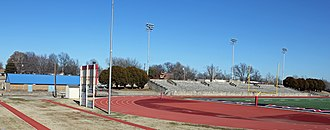 National Register of Historic Places listings in Kay County, Oklahoma - Image: Blaine Stadium and Fieldhouse