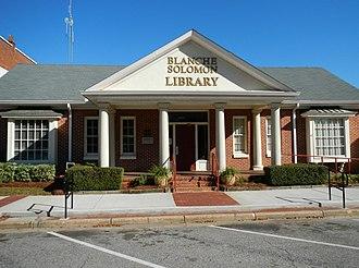 Headland, Alabama - Image: Blanche Solomon Library Headland, AL