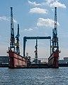 Blohm + Voss dry dock, Große Elbstraße, Hamburg (P1080412).jpg