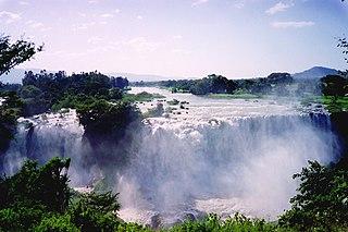 Blue Nile Falls waterfall