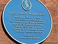 Blue Plaque, Leeds Union Workhouse, Beckett St - geograph.org.uk - 202198.jpg