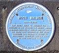 Blue Plaque, Roch Bridge, The Esplanade - geograph.org.uk - 2251201.jpg