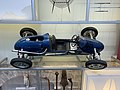 Blue racingcar at the National Museum of Scotland, pic2.JPG