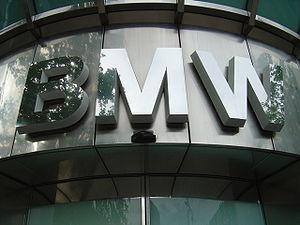 Bmw logo eingang berlin