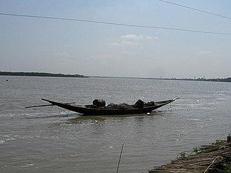 Ichamati River - The Ichamati from Taki-Saidpur