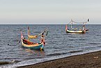 Boats at Duta Beach, Paiton, Probolinggo, East Java, 2017-09-14.jpg