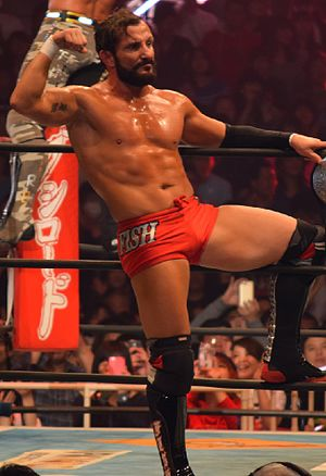 Bobby Fish - Fish appearing with New Japan Pro Wrestling in November 2015
