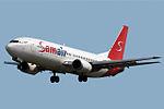 Boeing 737-476 Samair OM-SAA (8706446553).jpg