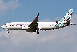 Air Italy - Air Italy Boeing 737 MAX 8