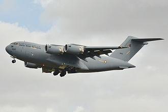 Qatar Air Force - A C-17 on take off