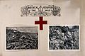 Boer War; two images showing the work of the Red Cross and m Wellcome V0015524.jpg