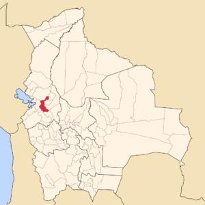 Pedro Domingo Murillo Province - Image: Bolivia La Paz Pedro Domingo Murillo