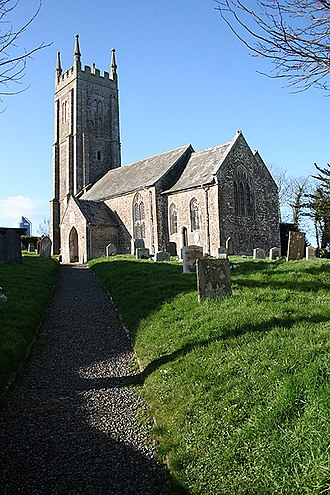 Grade I listed buildings in West Devon - Image: Bondleigh St Jamess church geograph.org.uk 338617
