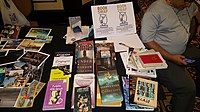 BookSwapping at Wikimania 2018 20180722 151806 (20).jpg