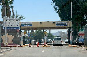 Sonoyta - Border crossing between Sonoyta and Lukeville, Arizona