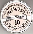 Borsod-Abaúj-Zemplén Megye Művelődéséért emlékplakett - 10 éves.jpg
