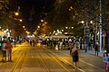Boulevard Vitosha at night, Sofia PD 2012 14.jpg
