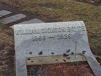 William D. Boyce - Grave of William D. Boyce