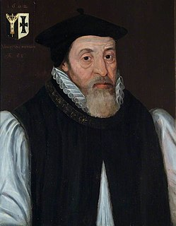 John Whitgift Archbishop of Canterbury from 1583