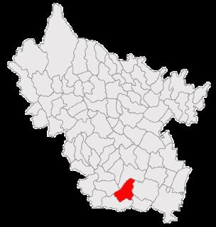 Brădeanu Commune in Buzău, Romania