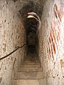 Bran castel secret passage.jpg