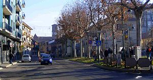 Brandizzo - Image: Brandizzo via torino