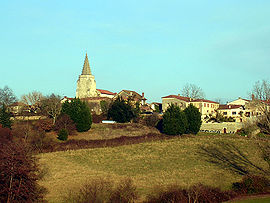 A general view of Brassempouy