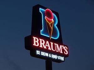 Braum's - A signature Braum's neon sign in Kansas