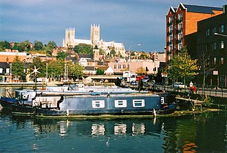 Lincoln, England - Brayford Pool