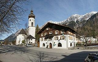 Innerbraz Place in Vorarlberg, Austria